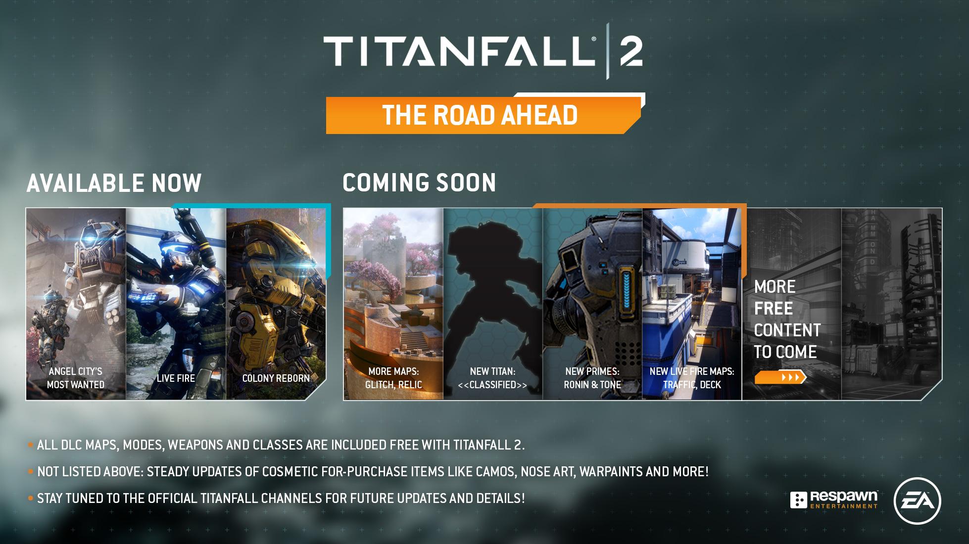 Titanfall 2 se dočká nového titána, map a dalších novinek 142199