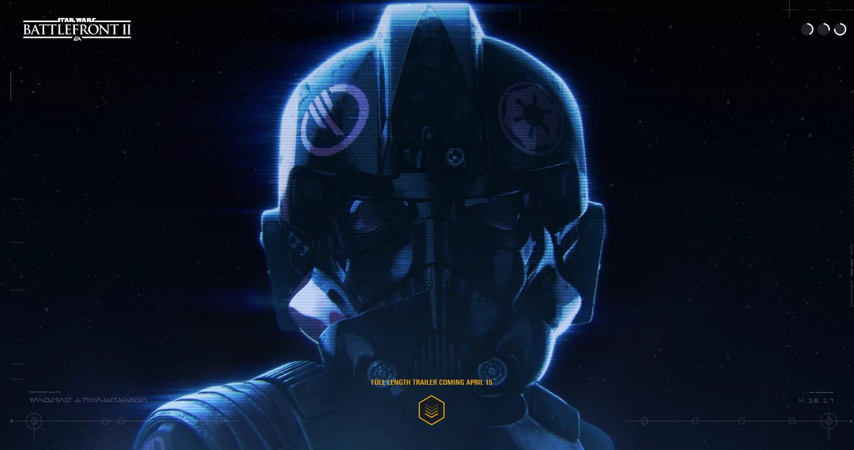 Nový obrázek Star Wars: Battlefrontu 2 ukazuje helmu pilota TIE 142203