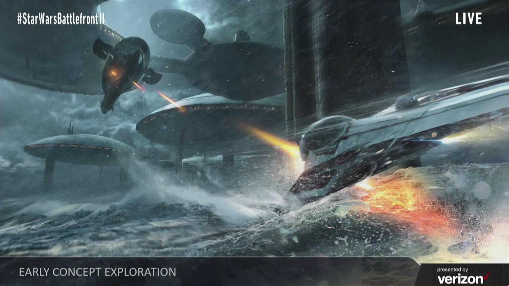 Koncepty Star Wars: Battlefrontu 2 ukazují herní třídy, klony a novou planetu 142279