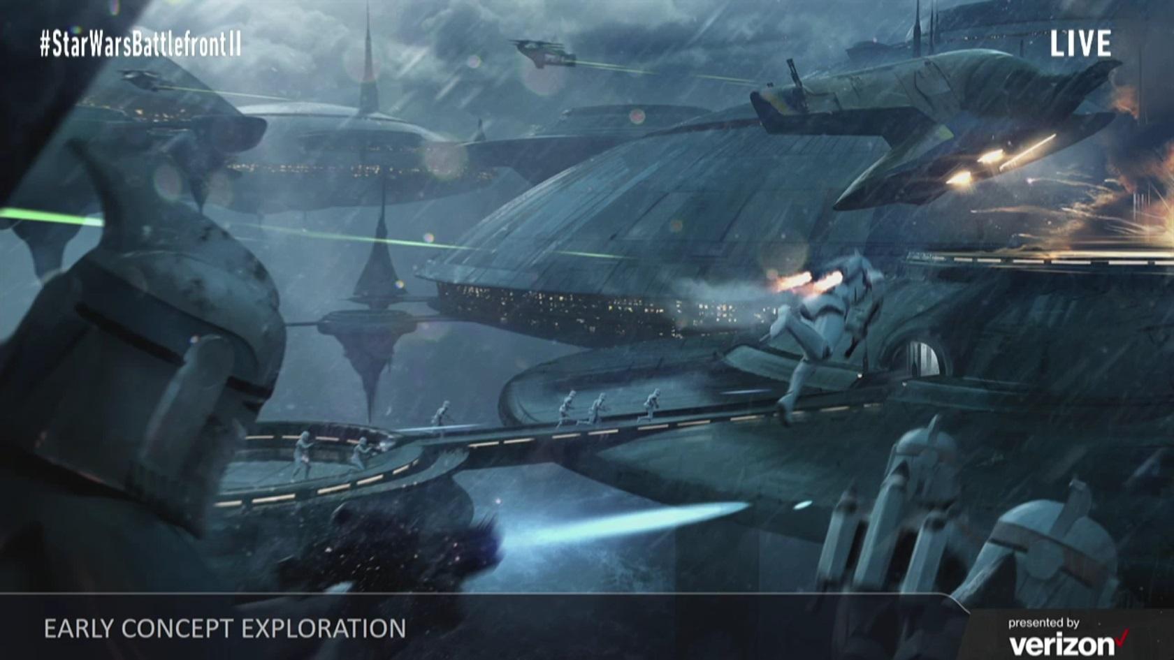 Koncepty Star Wars: Battlefrontu 2 ukazují herní třídy, klony a novou planetu 142280
