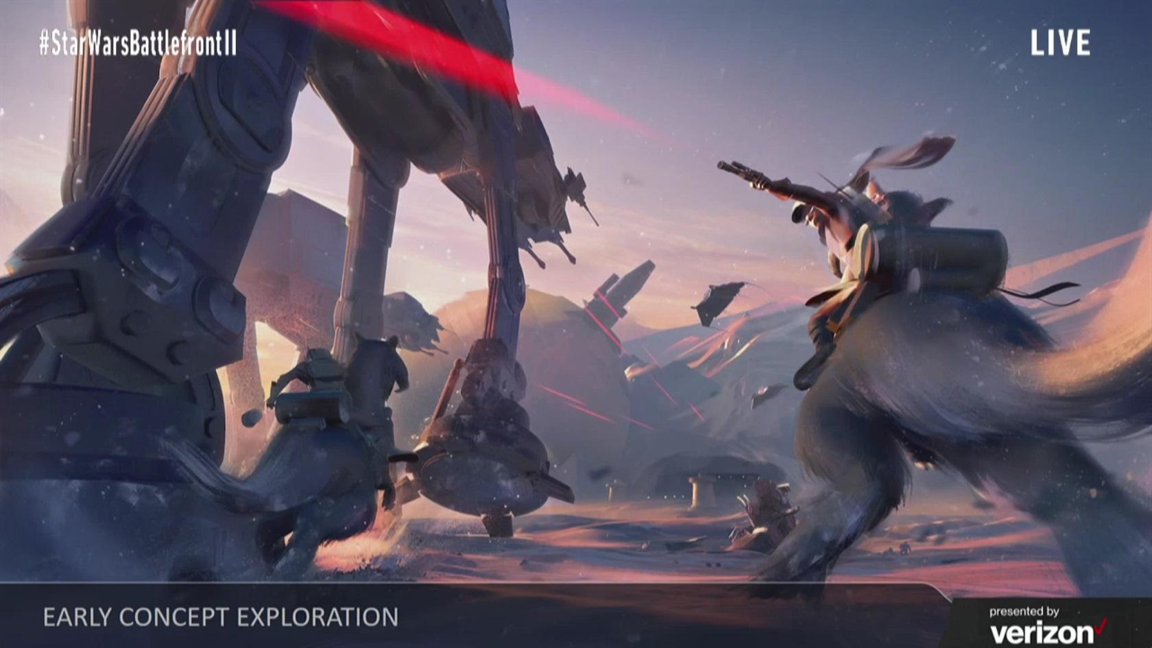 Koncepty Star Wars: Battlefrontu 2 ukazují herní třídy, klony a novou planetu 142281