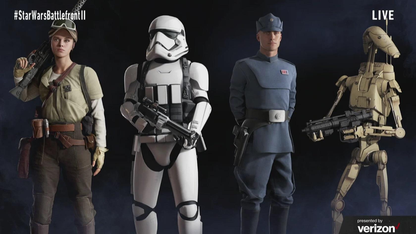 Koncepty Star Wars: Battlefrontu 2 ukazují herní třídy, klony a novou planetu 142283