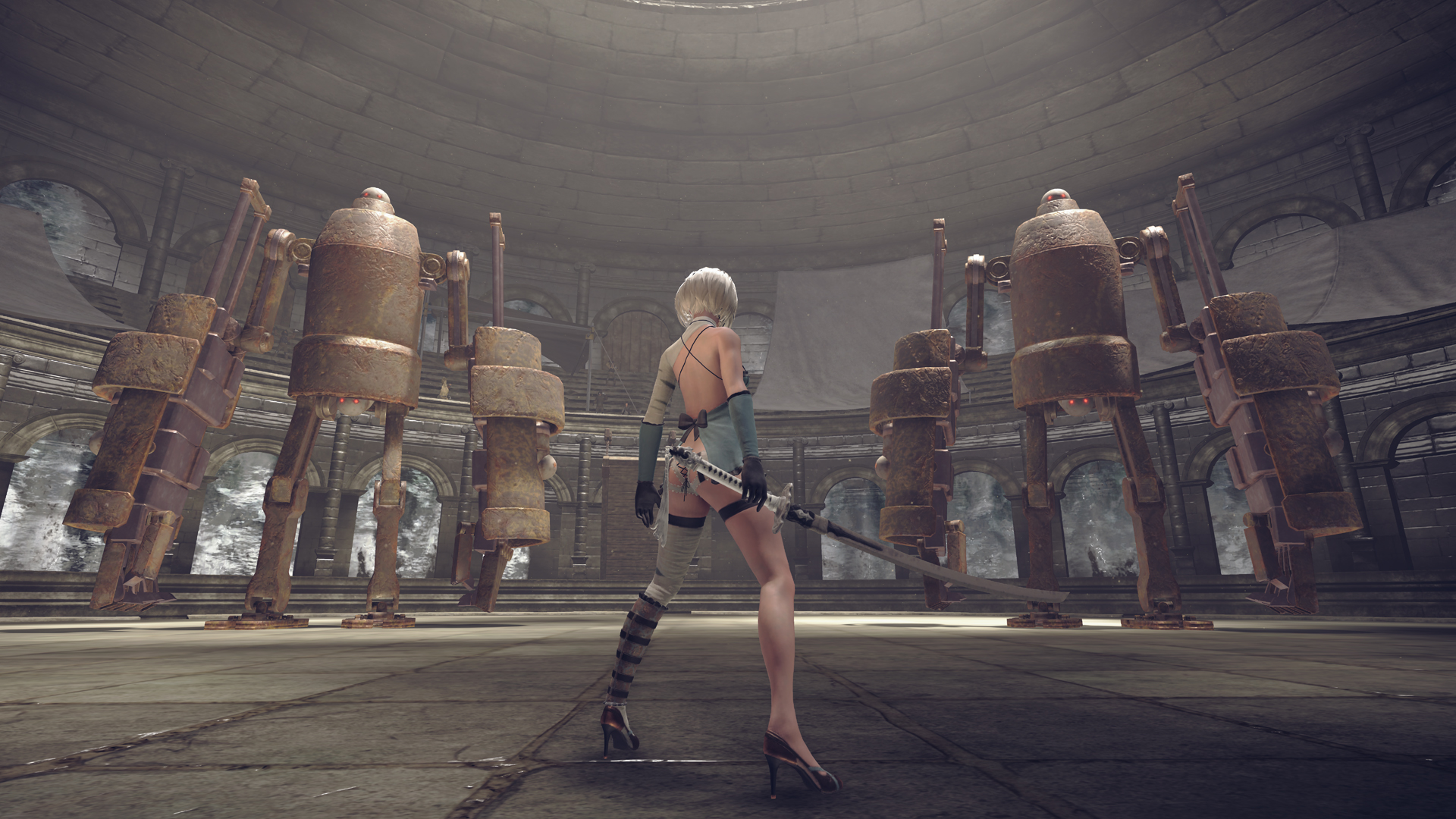 V DLC pro NieR: Automata se postavíte šéfům Platinum Games 142296