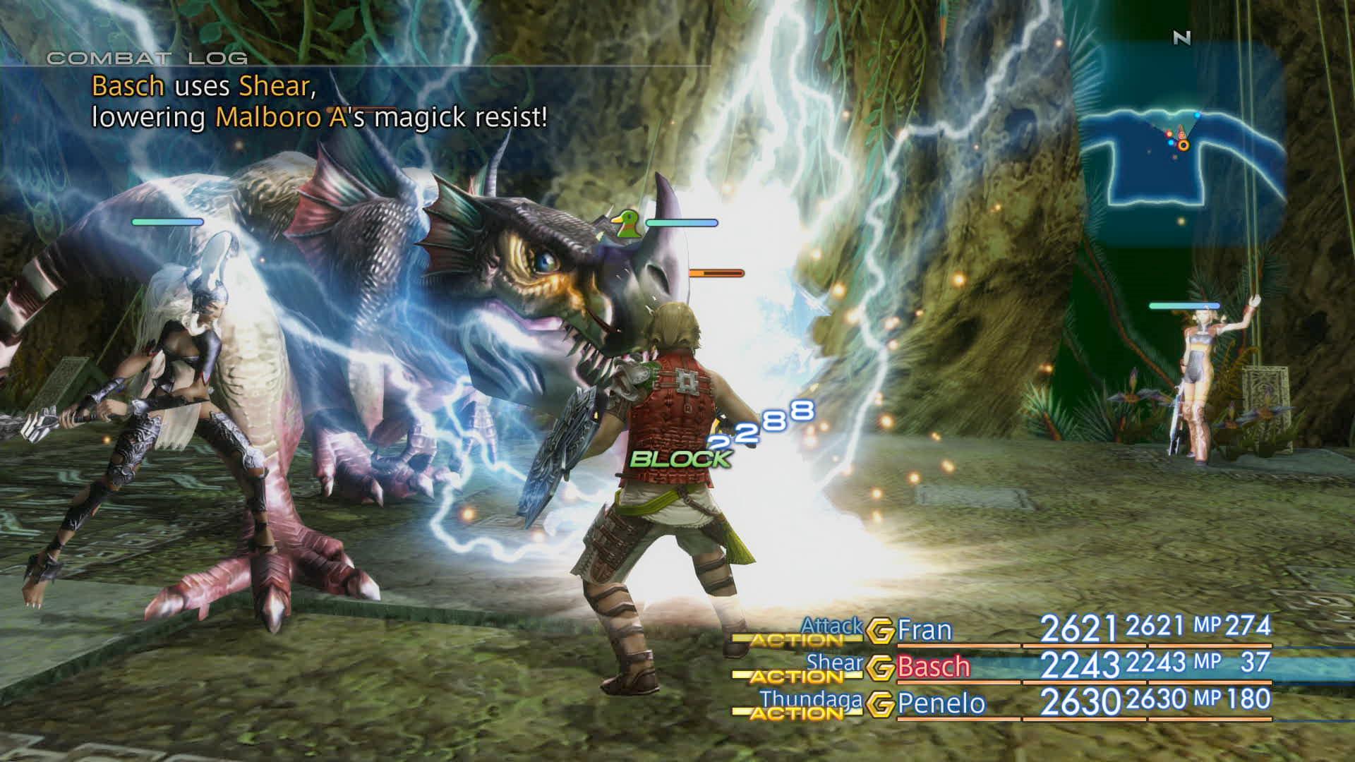 Boje a předělové scény z Final Fantasy XII: The Zodiac Age 142332