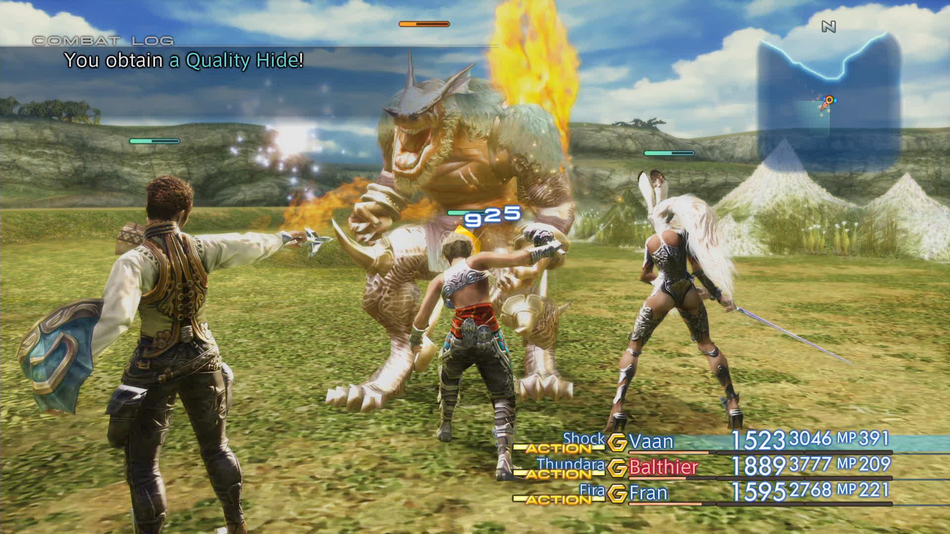 Boje a předělové scény z Final Fantasy XII: The Zodiac Age 142333