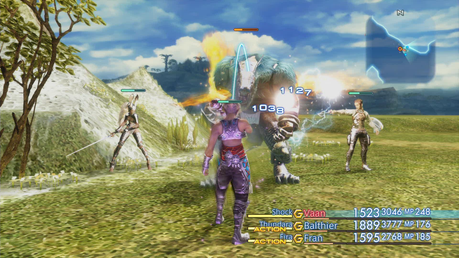 Boje a předělové scény z Final Fantasy XII: The Zodiac Age 142334