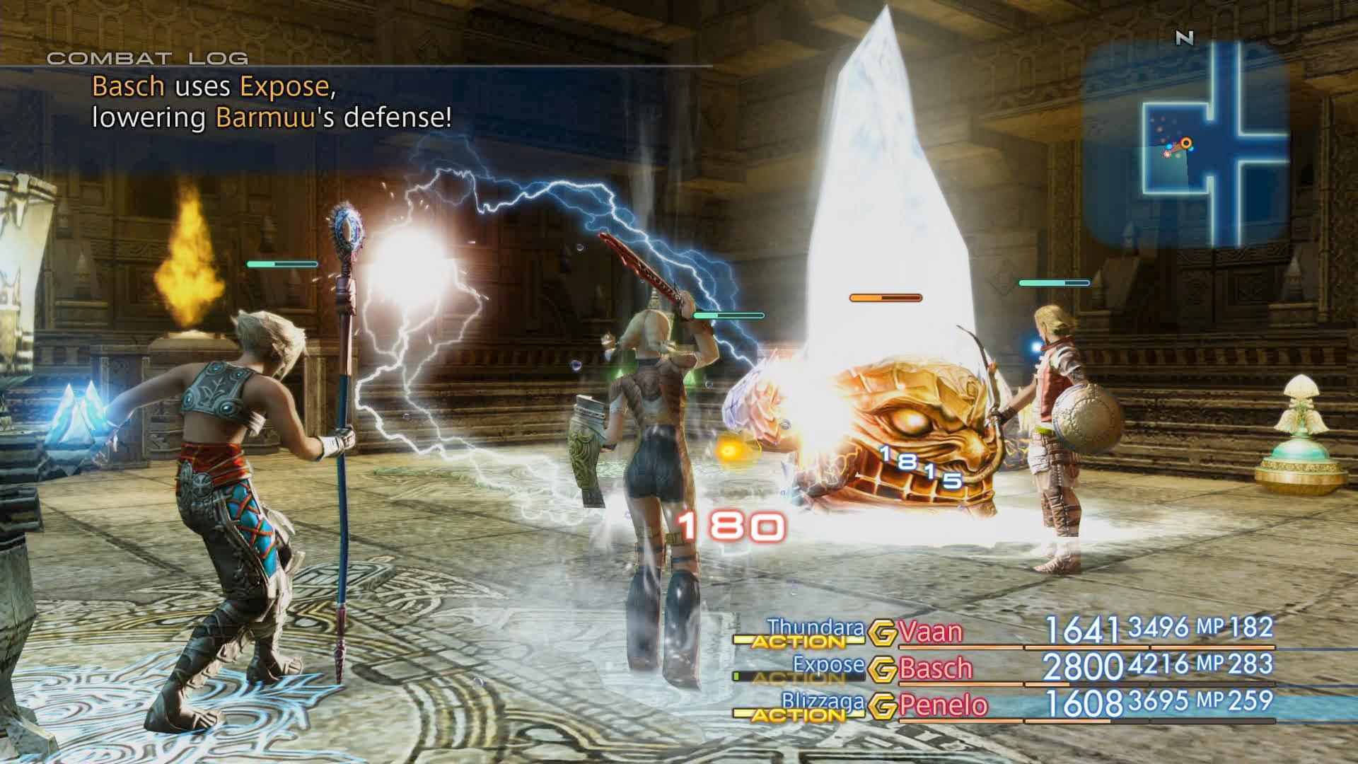 Boje a předělové scény z Final Fantasy XII: The Zodiac Age 142336