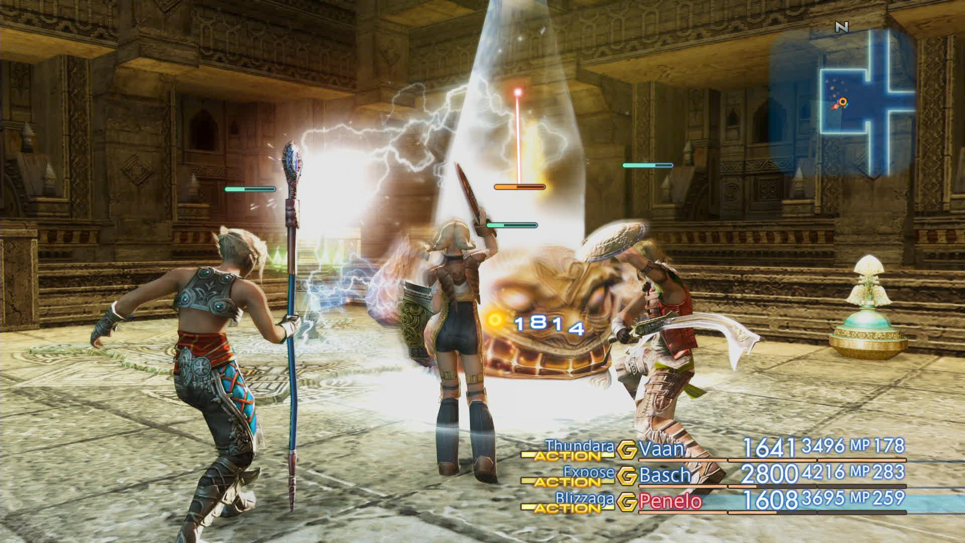 Boje a předělové scény z Final Fantasy XII: The Zodiac Age 142337