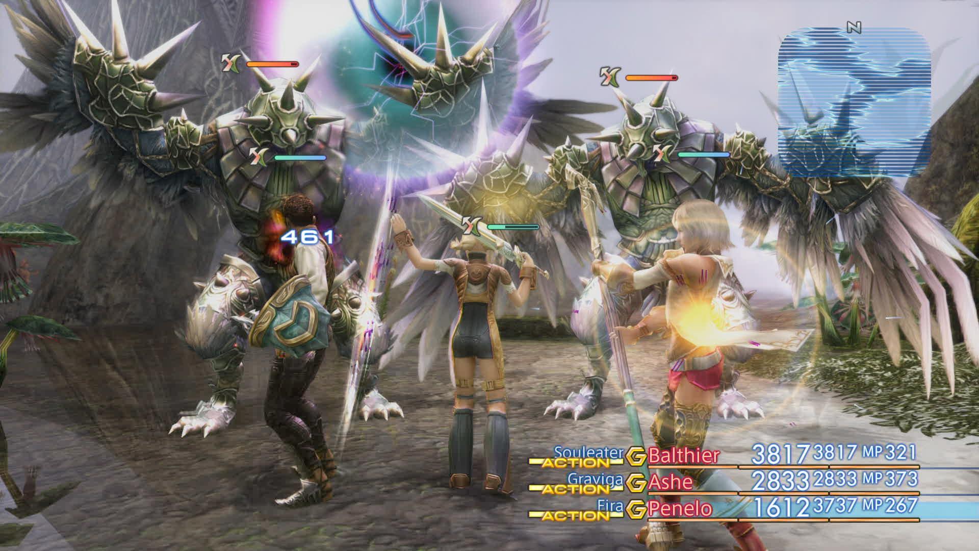 Boje a předělové scény z Final Fantasy XII: The Zodiac Age 142338