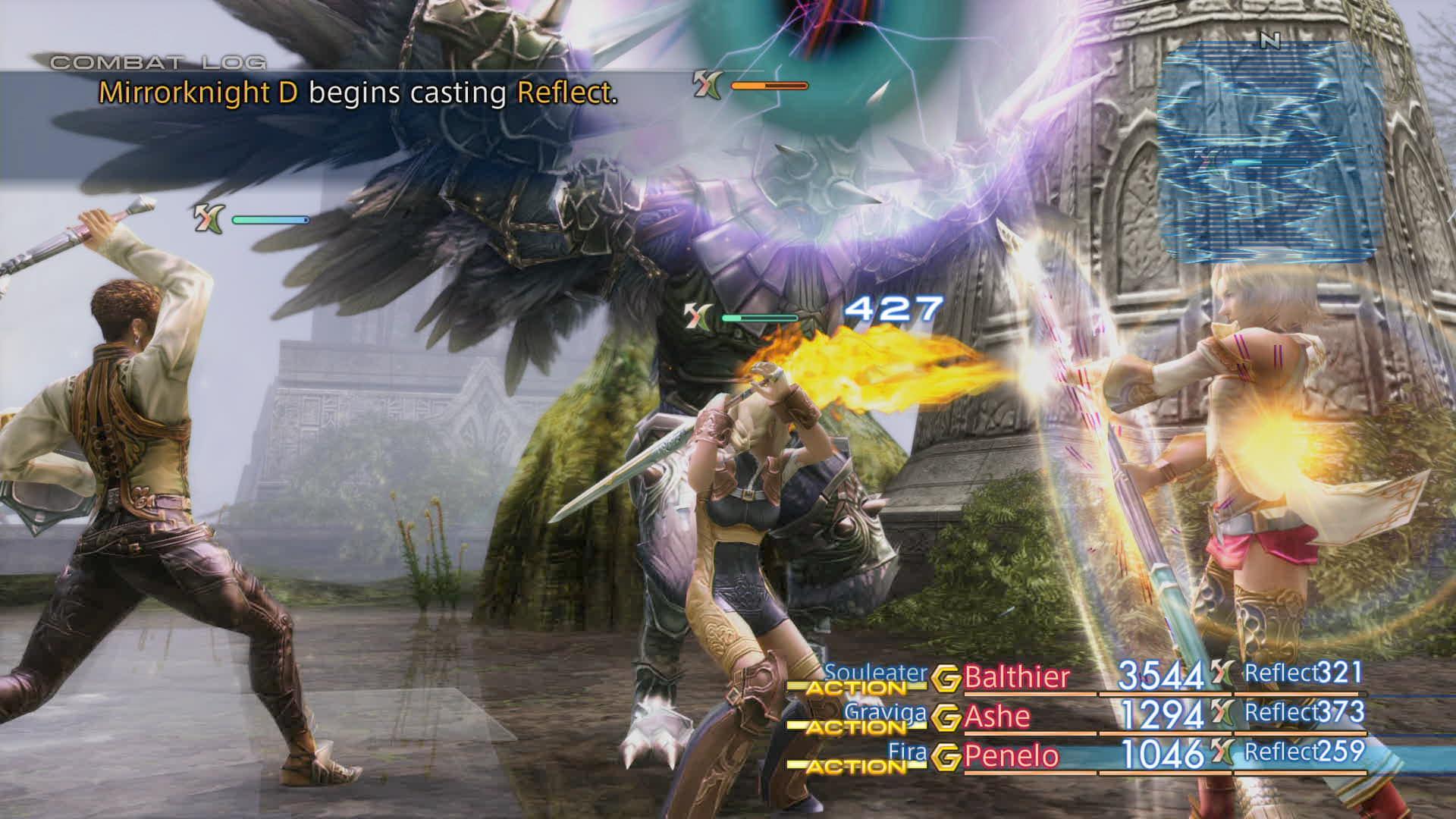 Boje a předělové scény z Final Fantasy XII: The Zodiac Age 142339