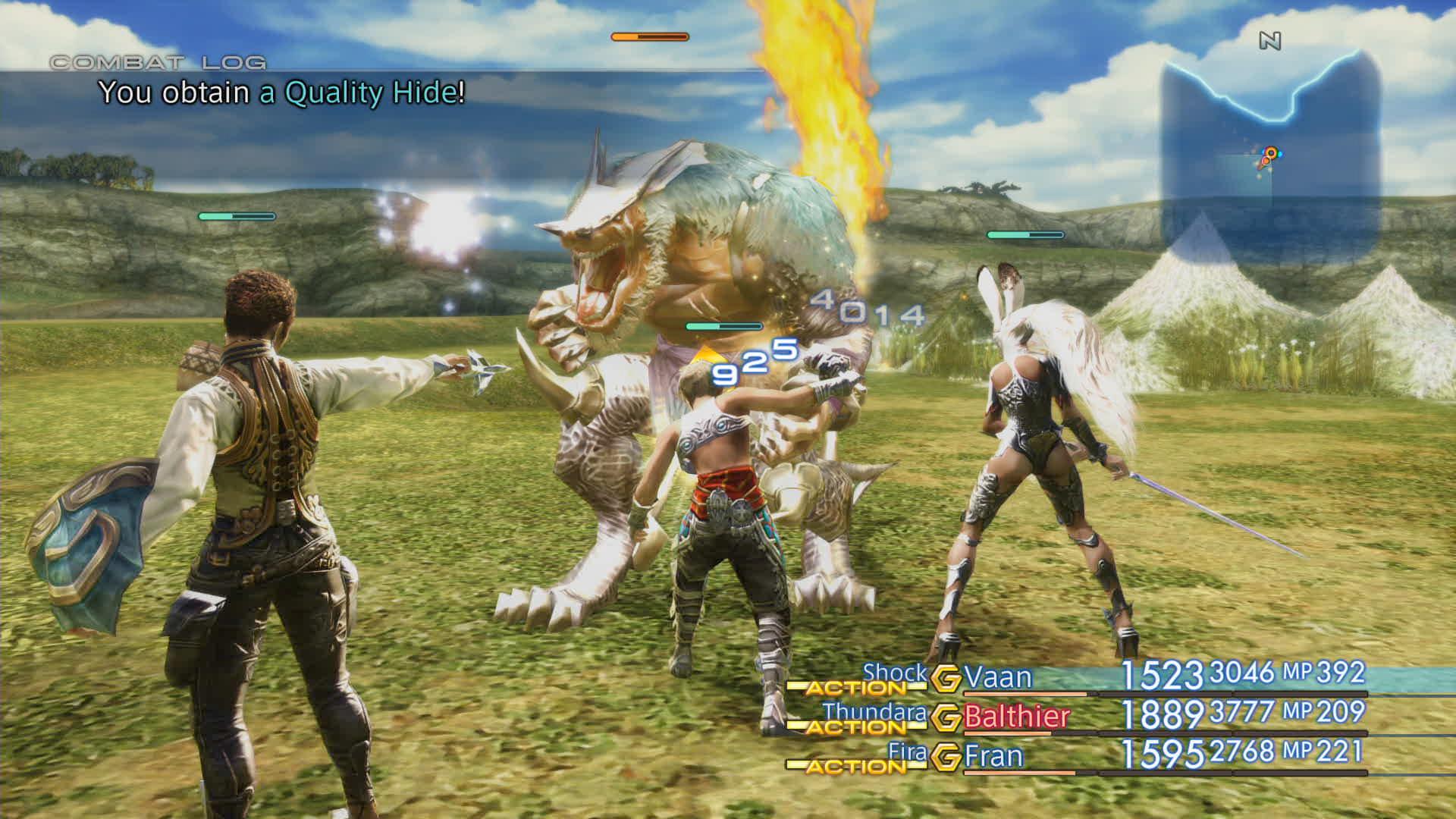 Boje a předělové scény z Final Fantasy XII: The Zodiac Age 142340