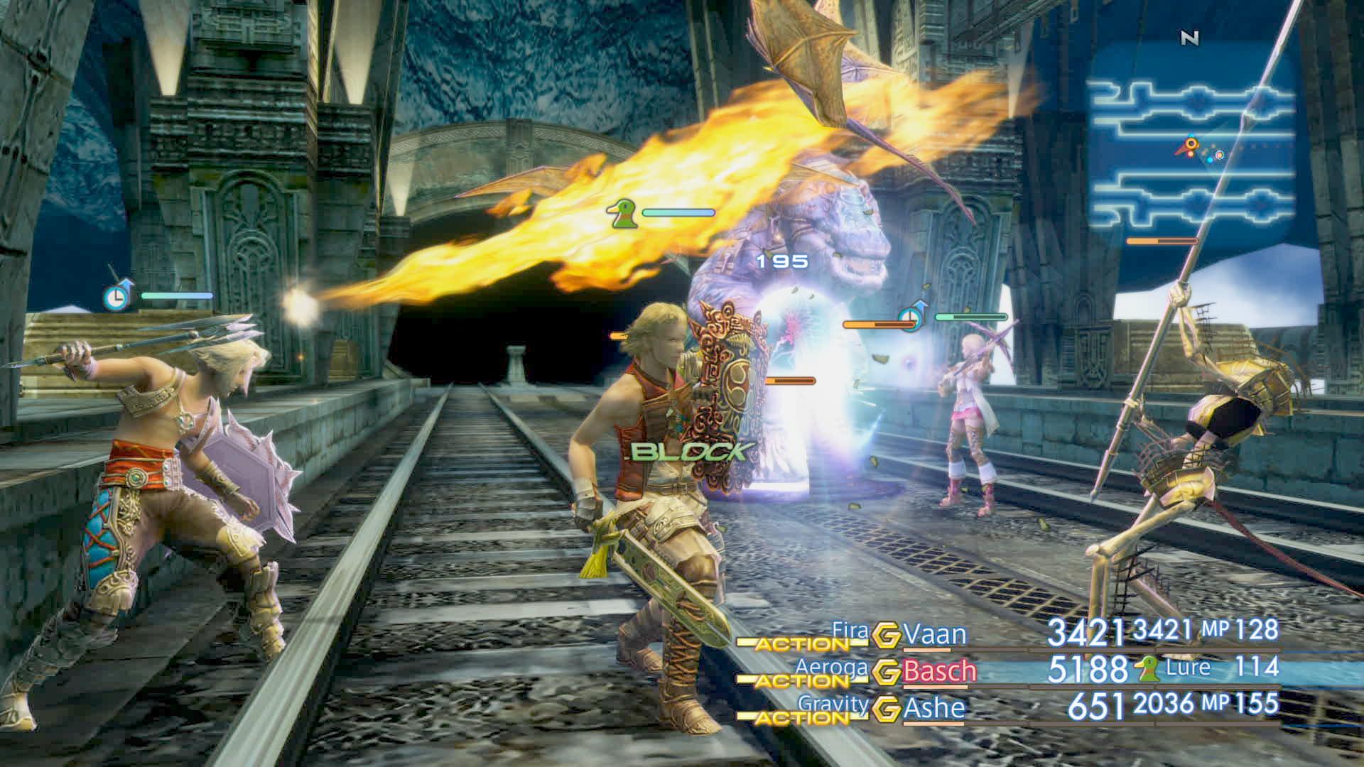 Boje a předělové scény z Final Fantasy XII: The Zodiac Age 142341