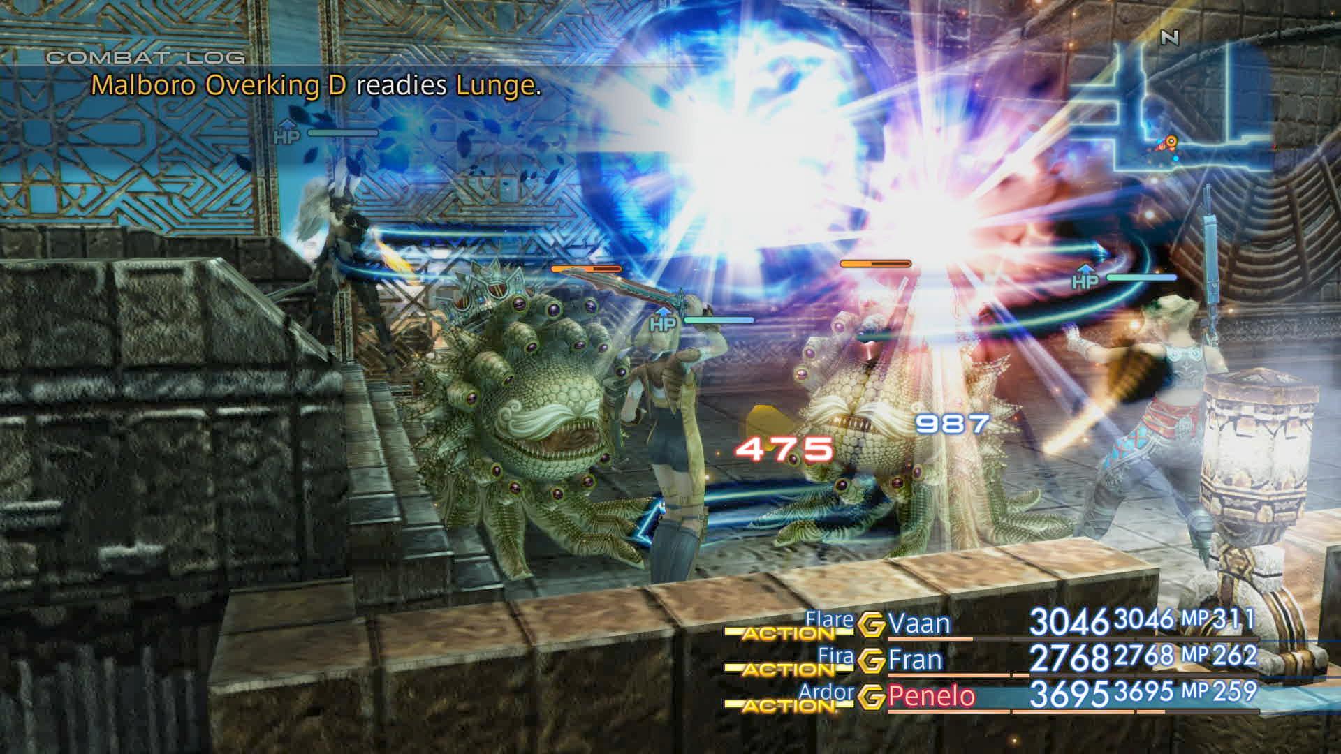 Boje a předělové scény z Final Fantasy XII: The Zodiac Age 142342