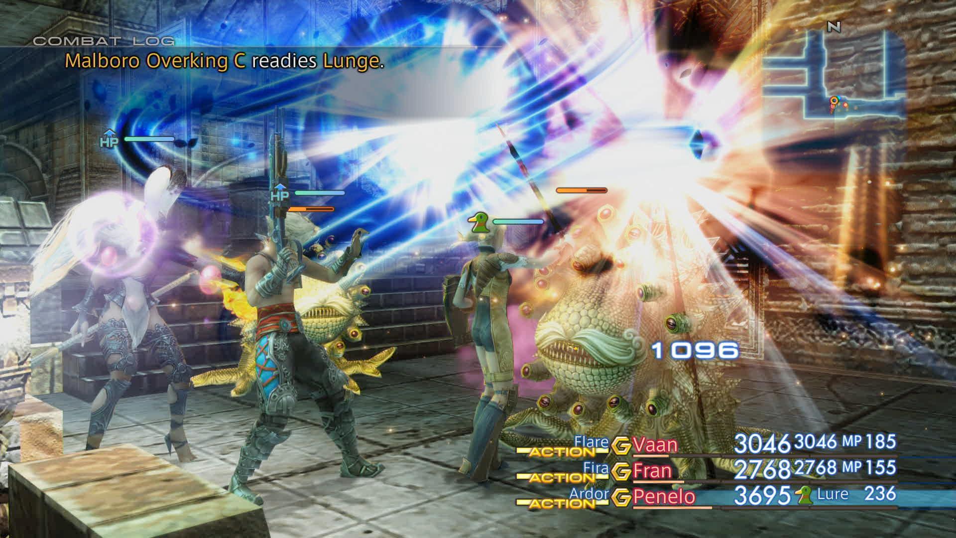 Boje a předělové scény z Final Fantasy XII: The Zodiac Age 142344