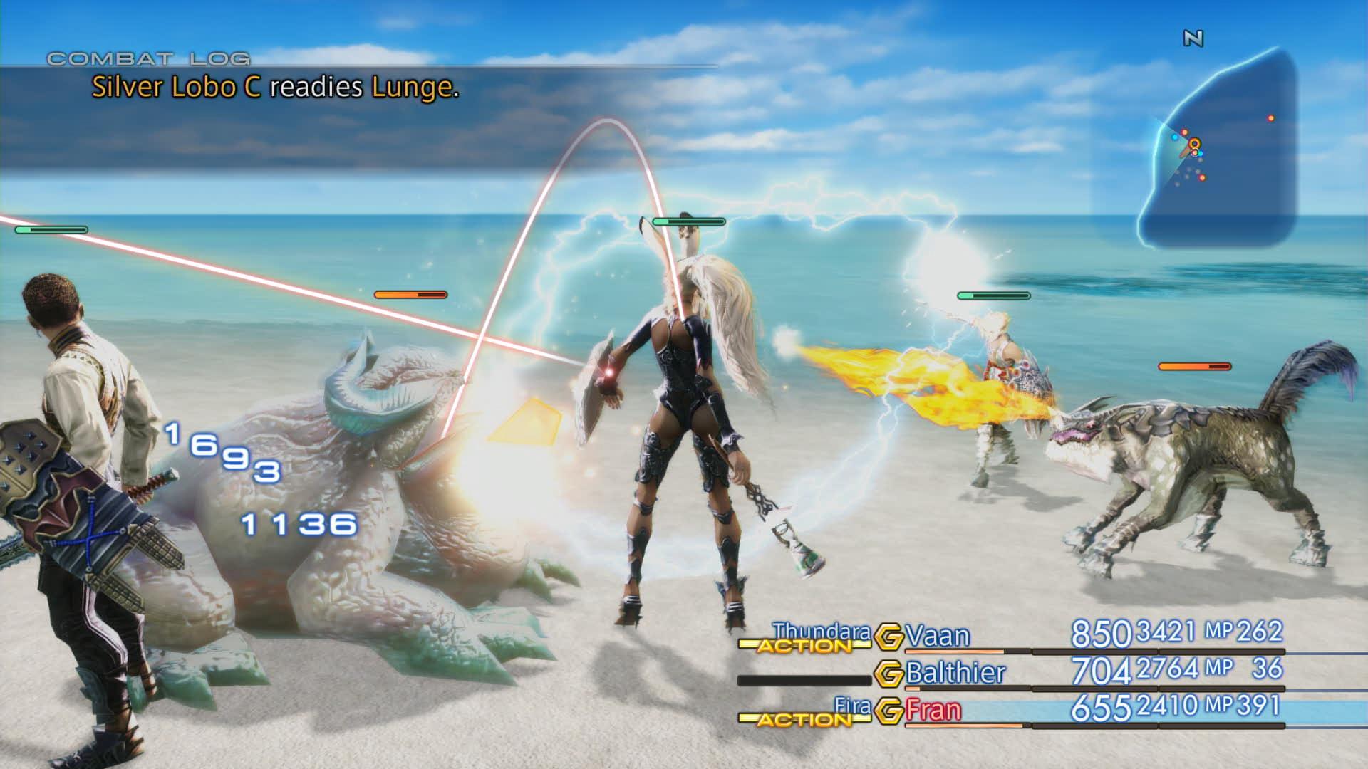 Boje a předělové scény z Final Fantasy XII: The Zodiac Age 142345