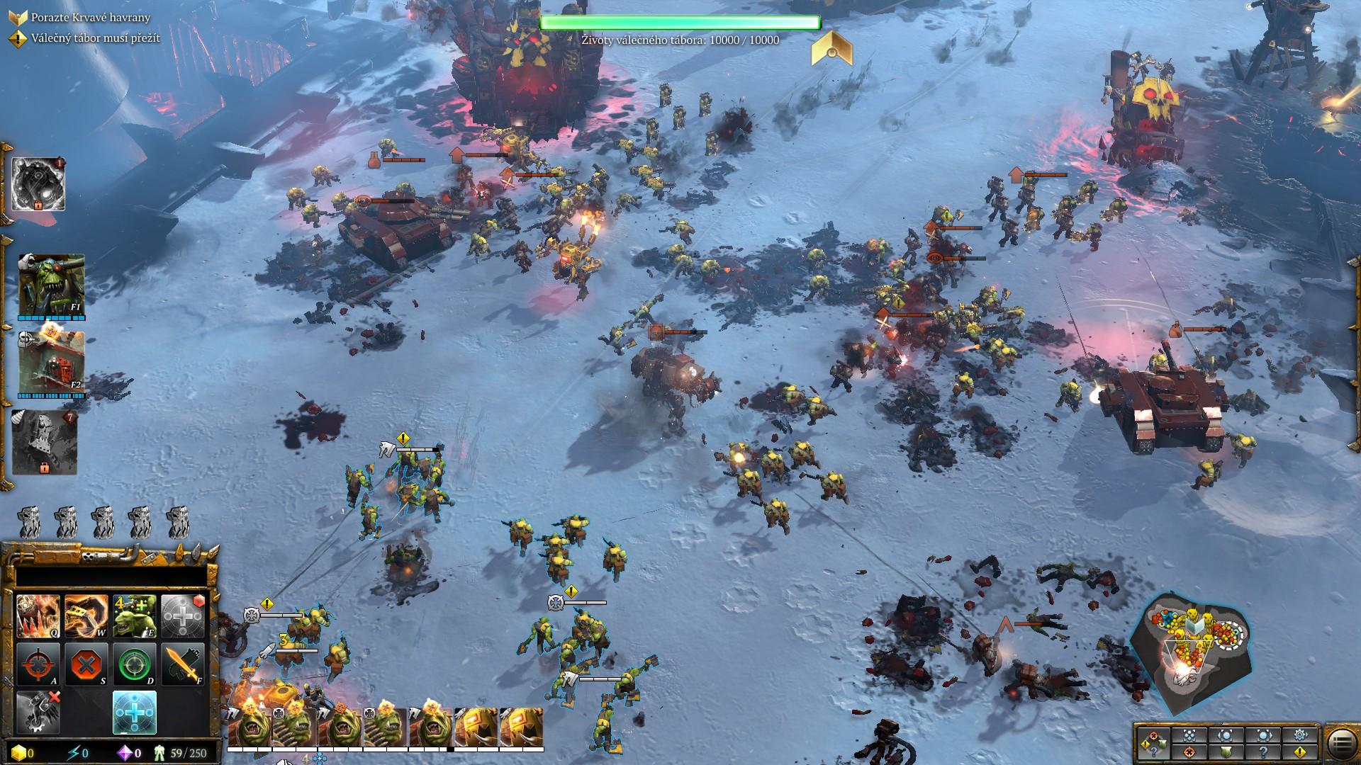 Warhammer 40,000: Dawn of War 3 – skutečně divoká trojice 142428