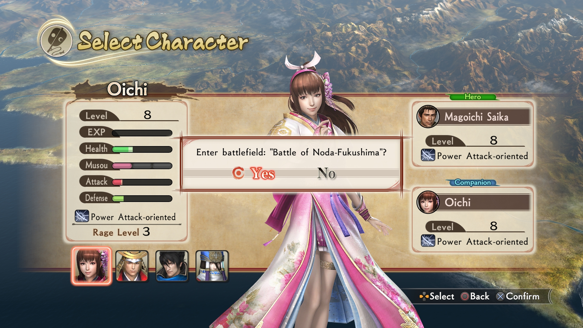 Detaily bojového systému v Samurai Warriors: Spirit of Sanada 142492