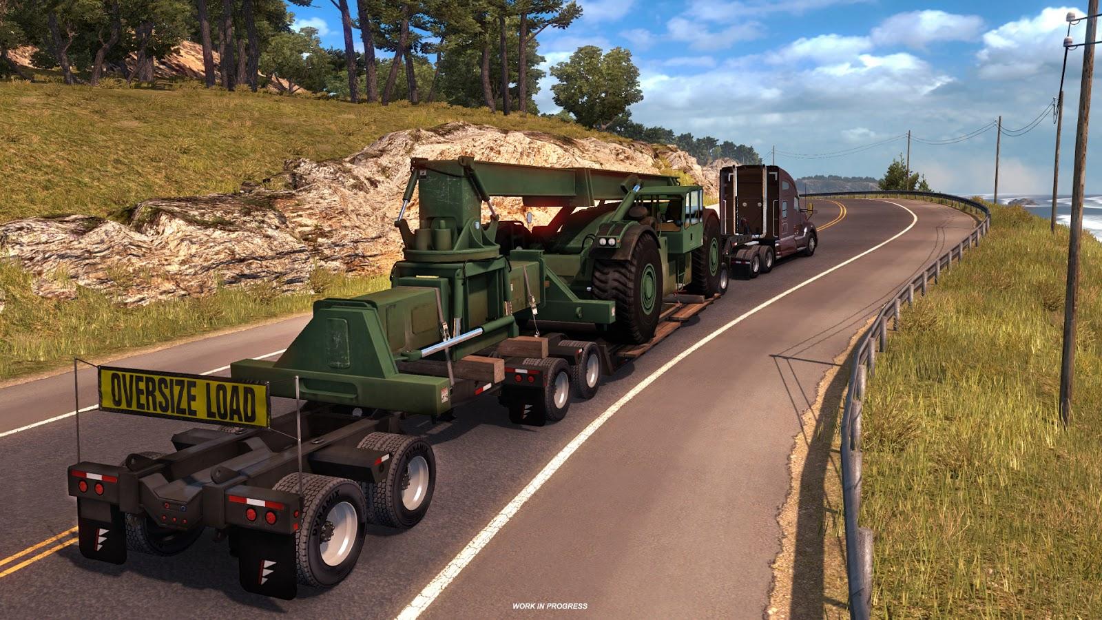 Těžké náklady budeme převážet i v American Truck Simulatoru 142532