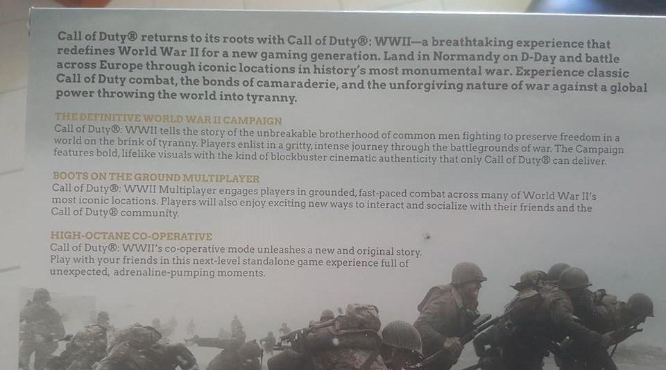 Nové informace o Call of Duty: WWII 142592