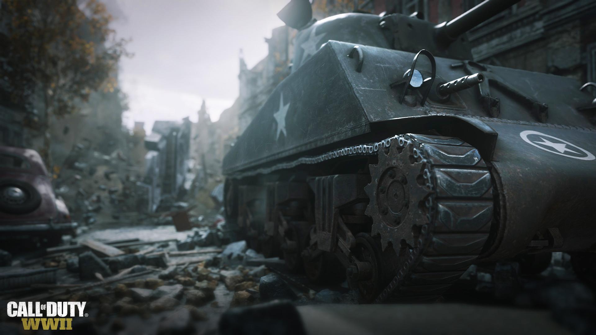 Tanková mise a zničitelné prostředí v Call of Duty: WWII 142900