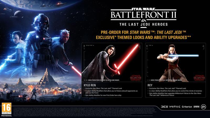 Přiblížen předobjednávkový bonus Star Wars: Battlefrontu 2 143003