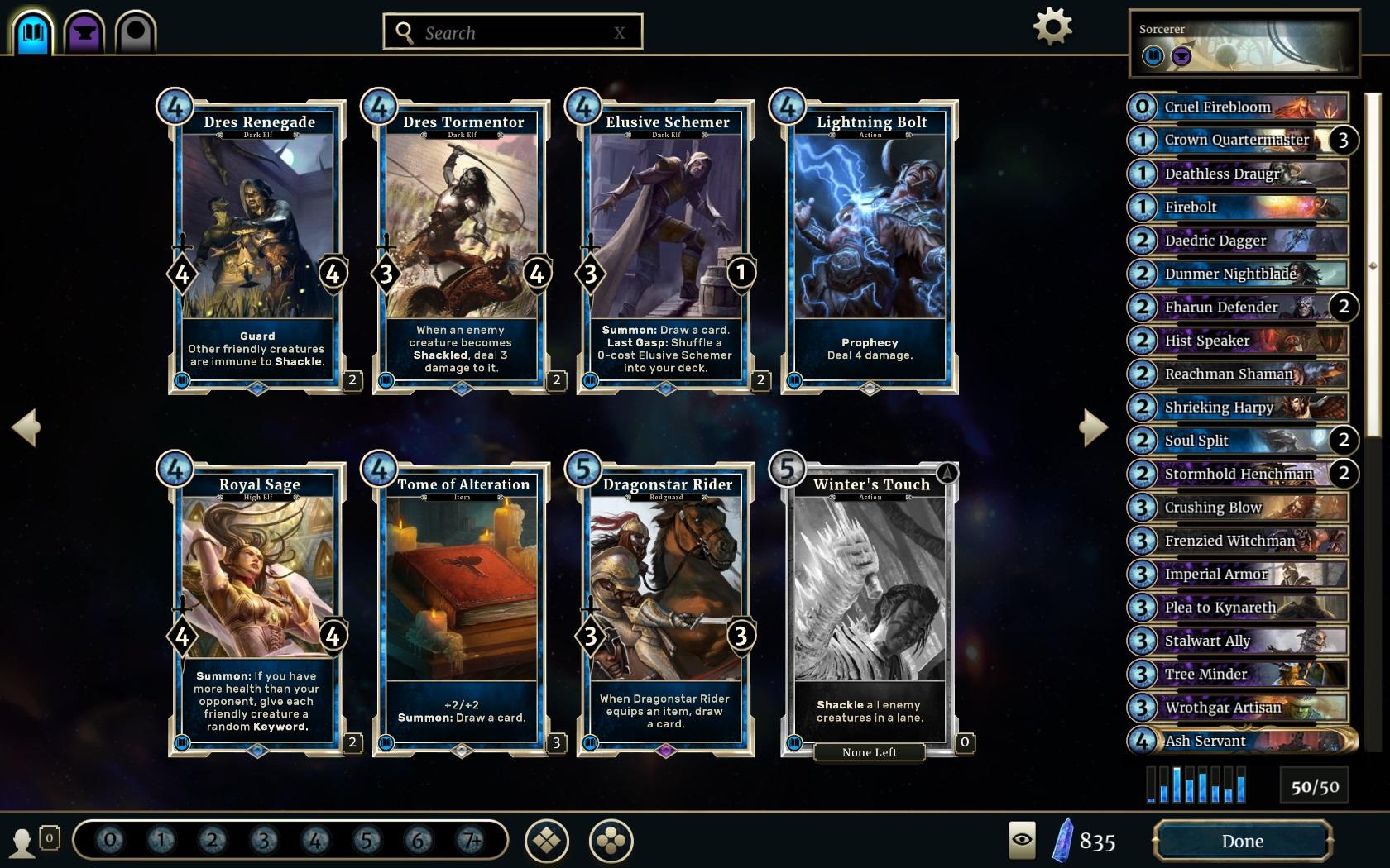 The Elder Scrolls: Legends - dojmy z karetního zápasení 143218