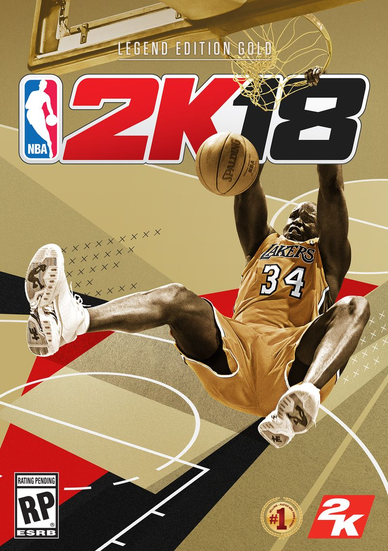 Shaquille O'Neal hvězdou NBA 2K18 143616