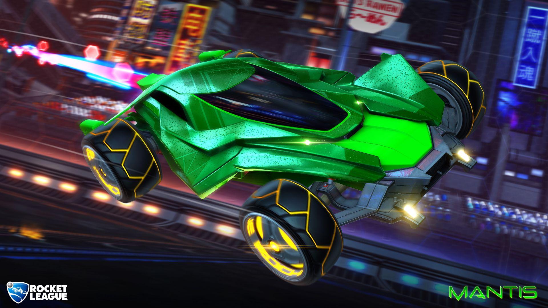 Update přidává do Rocket League nové auto a vrací Neo Tokyo 143633
