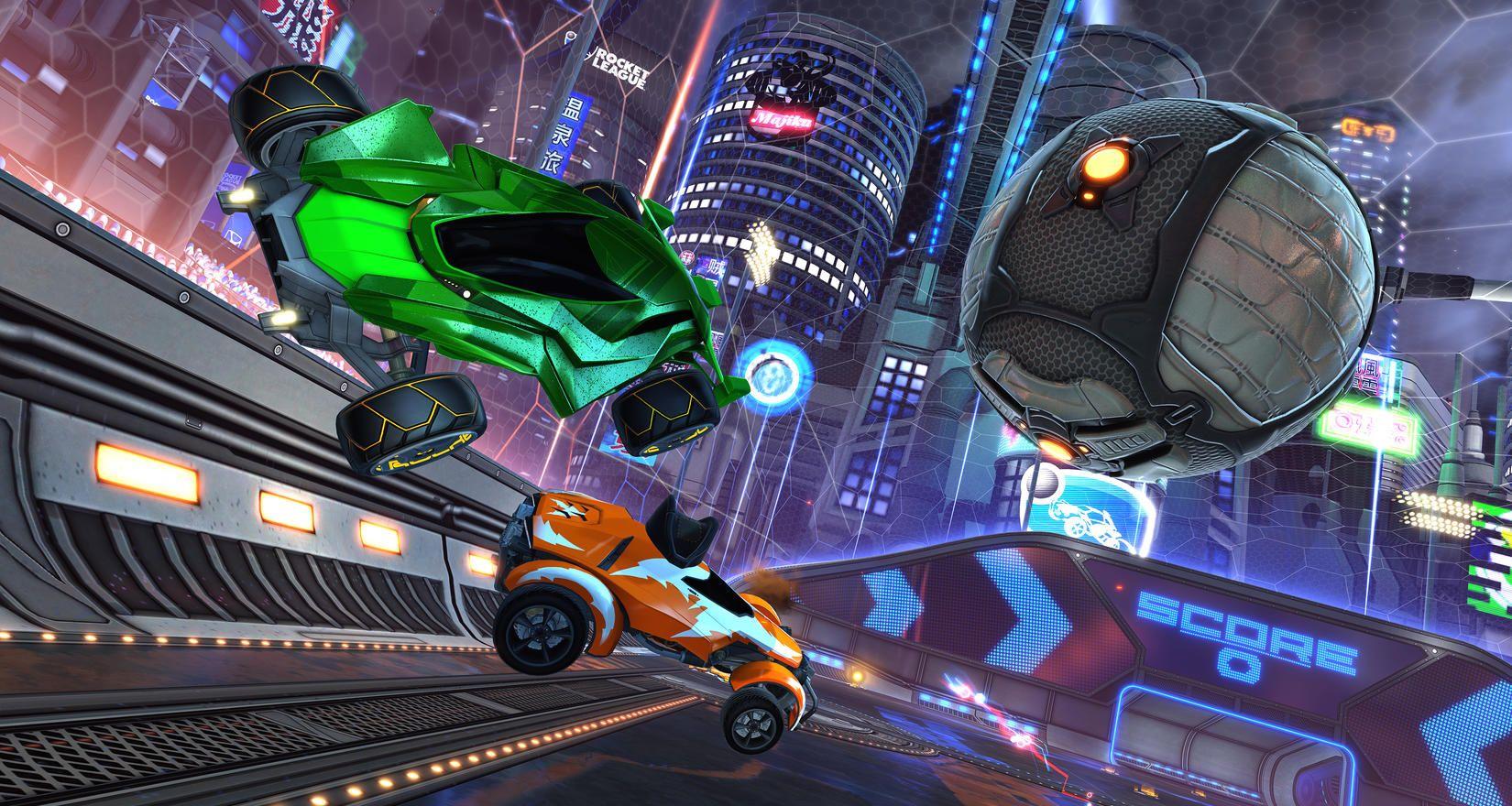 Update přidává do Rocket League nové auto a vrací Neo Tokyo 143634