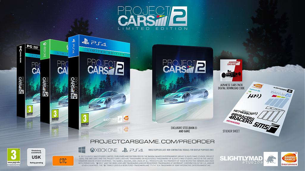 Project Cars 2 se bude prodávat ve třech edicích 143638