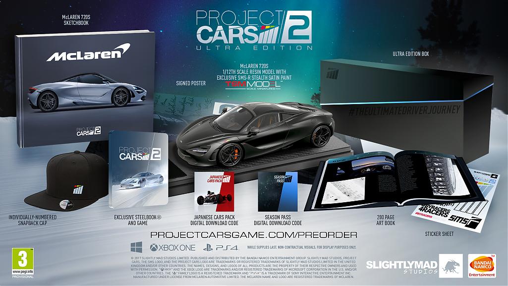 Project Cars 2 se bude prodávat ve třech edicích 143640
