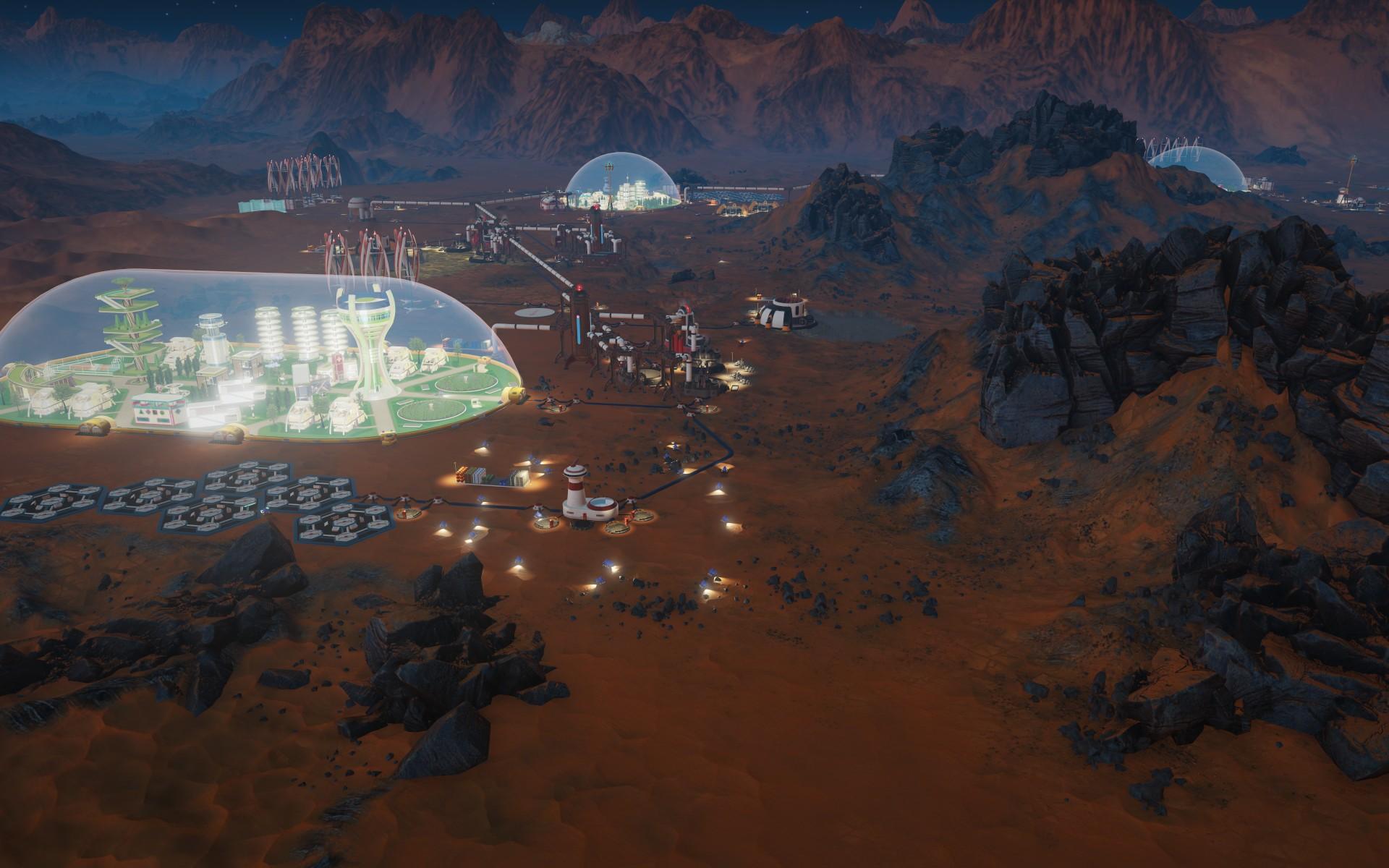 Tropico vyměnili za budovatelskou strategii na Marsu 143816