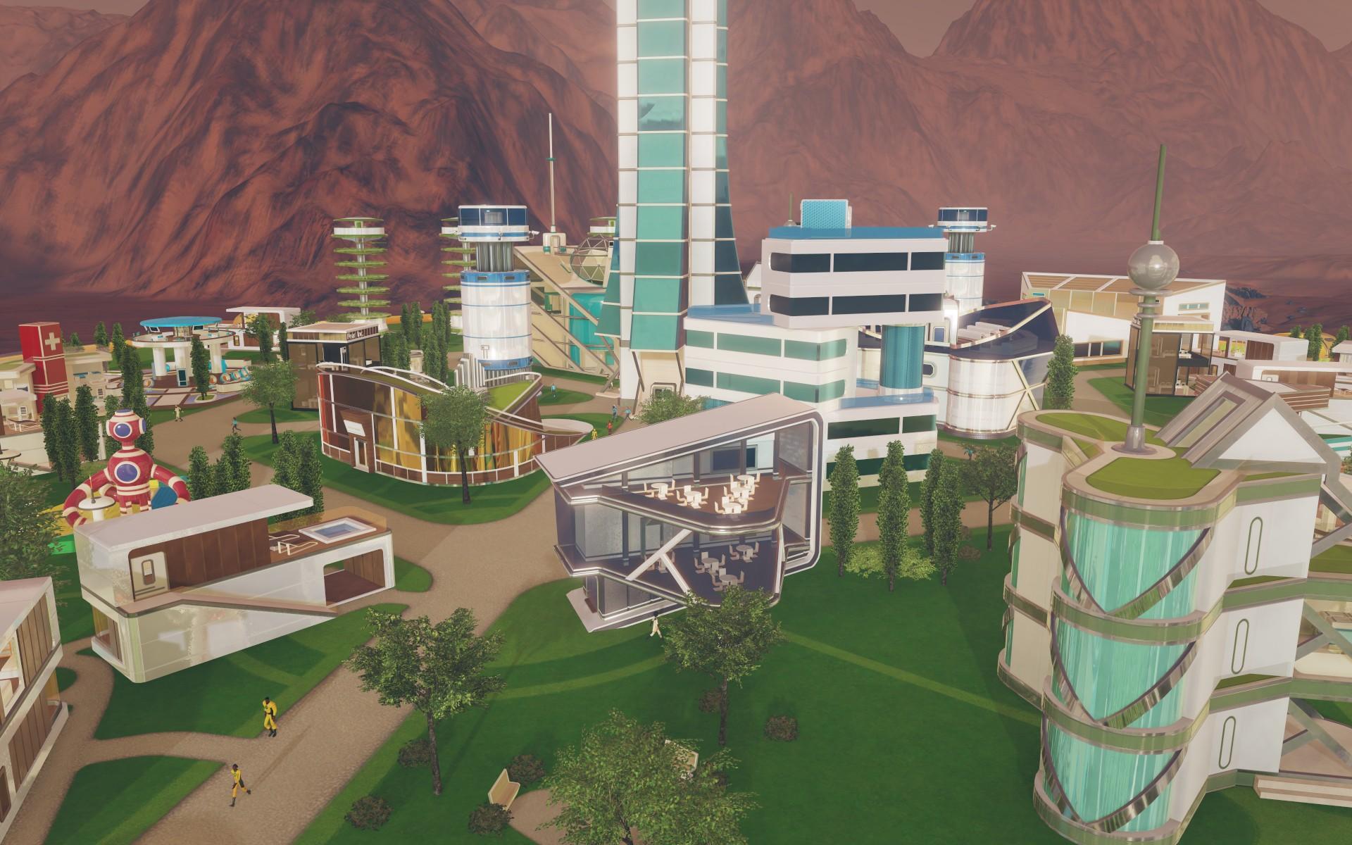 Tropico vyměnili za budovatelskou strategii na Marsu 143817