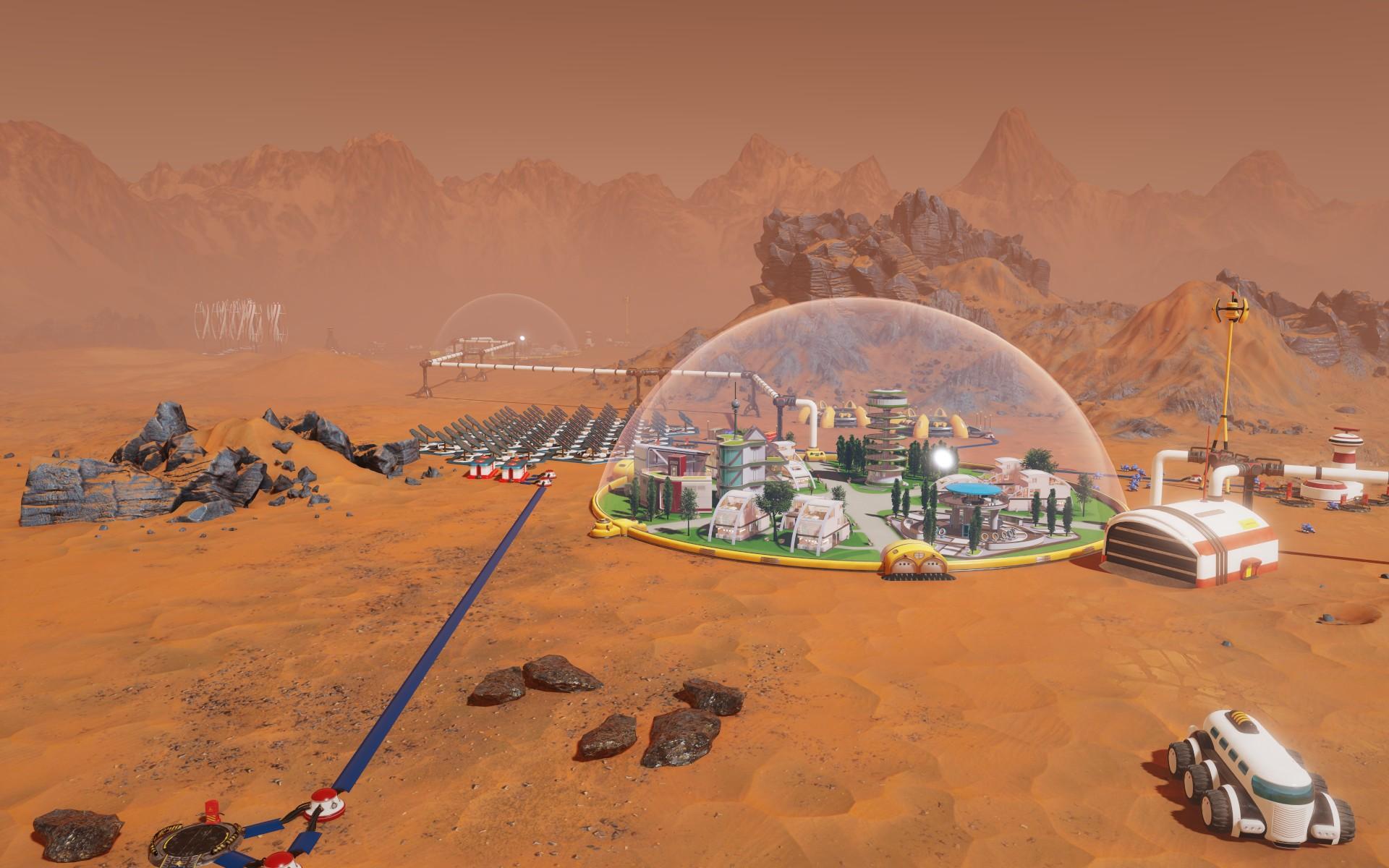 Tropico vyměnili za budovatelskou strategii na Marsu 143818