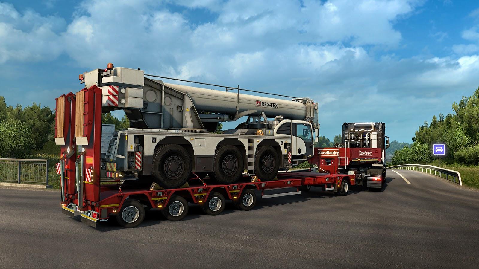 Nové těžké náklady a návěsy v Euro Truck Simulatoru 2 143826