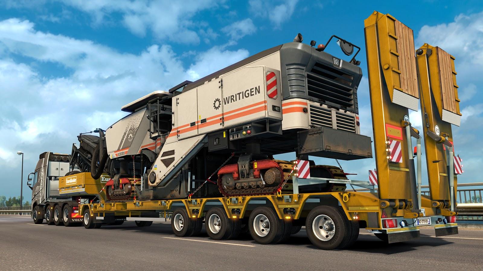 Nové těžké náklady a návěsy v Euro Truck Simulatoru 2 143827