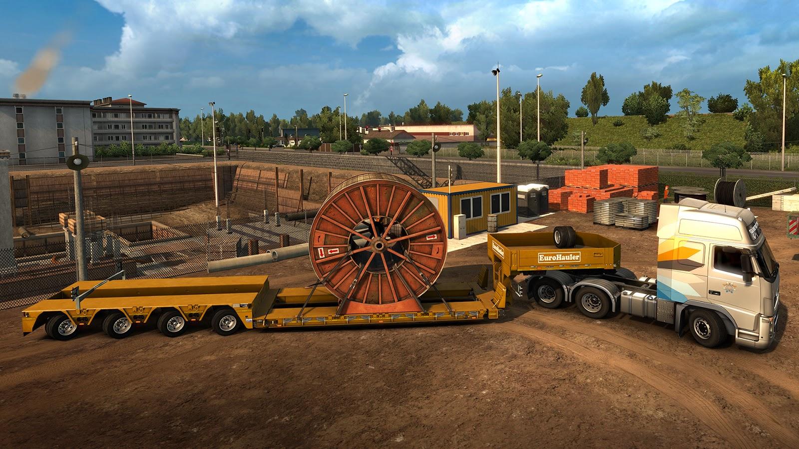 Nové těžké náklady a návěsy v Euro Truck Simulatoru 2 143828