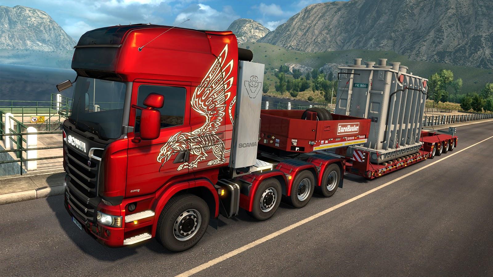 Nové těžké náklady a návěsy v Euro Truck Simulatoru 2 143829