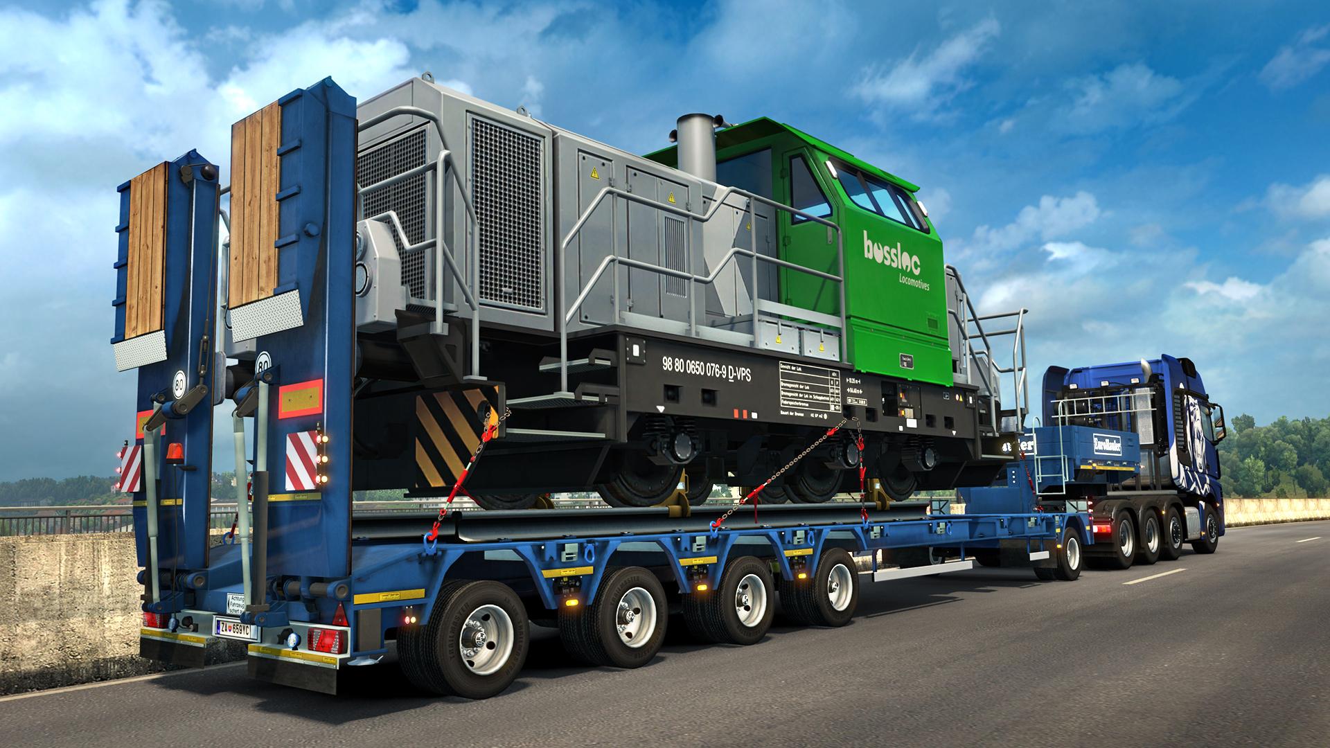 Nové těžké náklady a návěsy v Euro Truck Simulatoru 2 143831