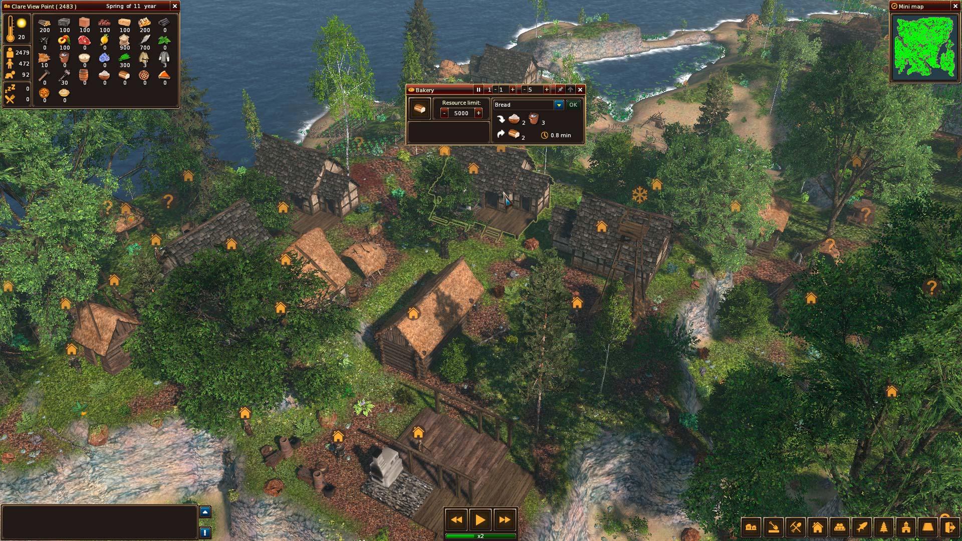Středověké Life is Feudal: Forest Village opouští předběžný přístup 143896