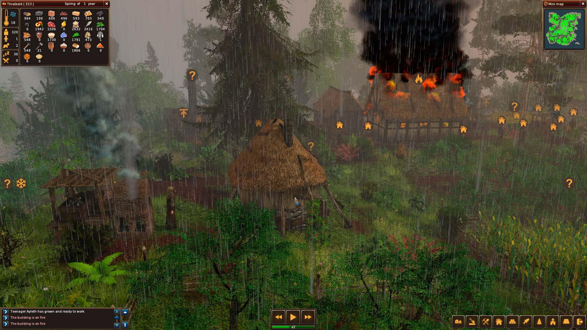 Středověké Life is Feudal: Forest Village opouští předběžný přístup 143900
