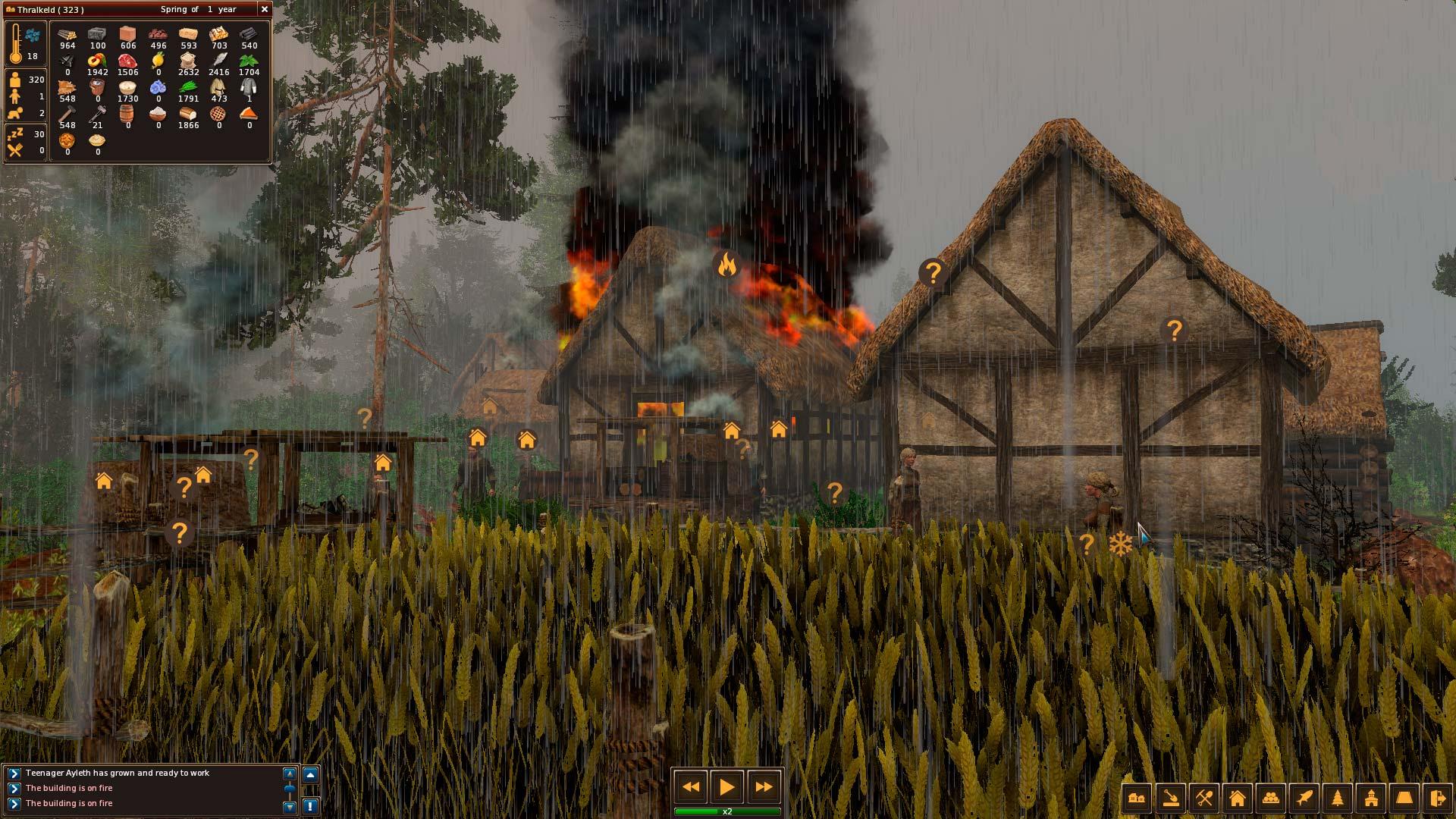 Středověké Life is Feudal: Forest Village opouští předběžný přístup 143901