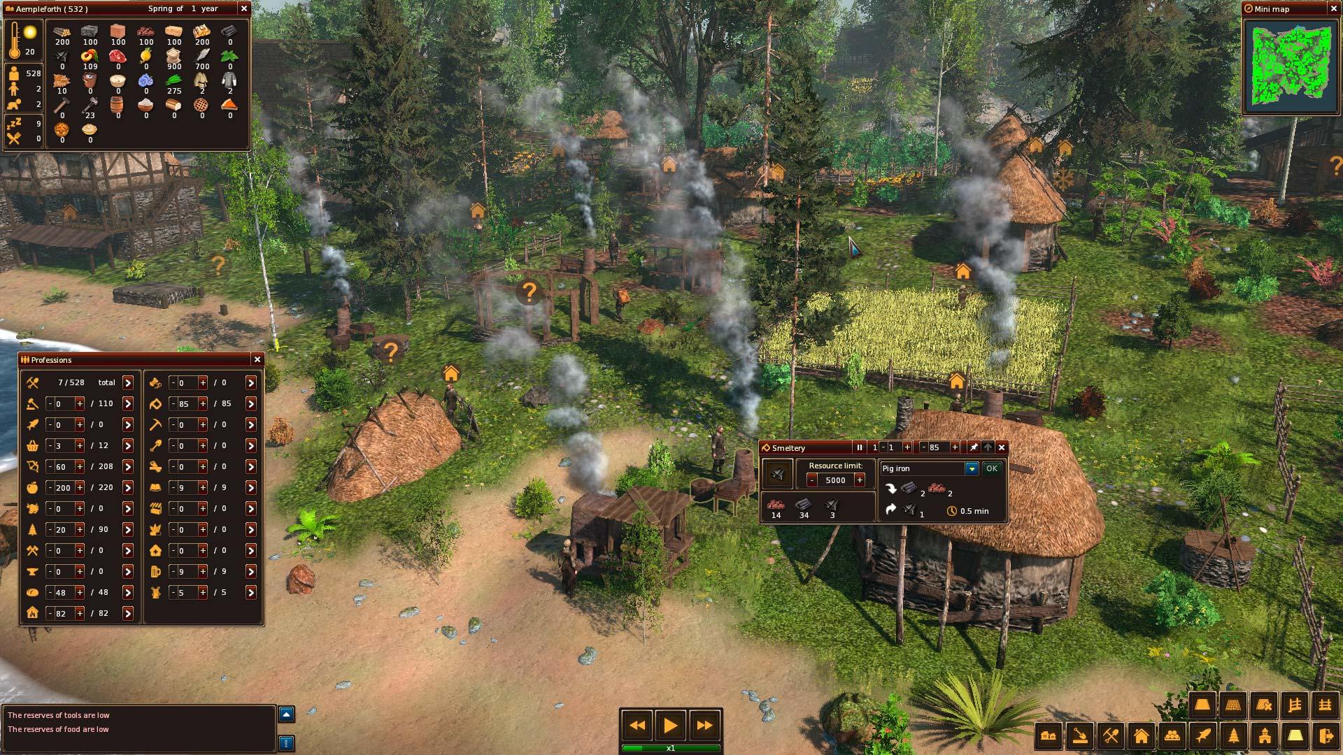 Středověké Life is Feudal: Forest Village opouští předběžný přístup 143904