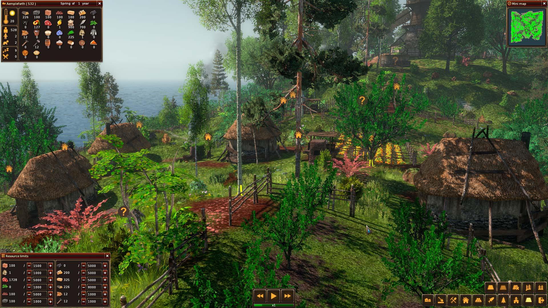 Středověké Life is Feudal: Forest Village opouští předběžný přístup 143906