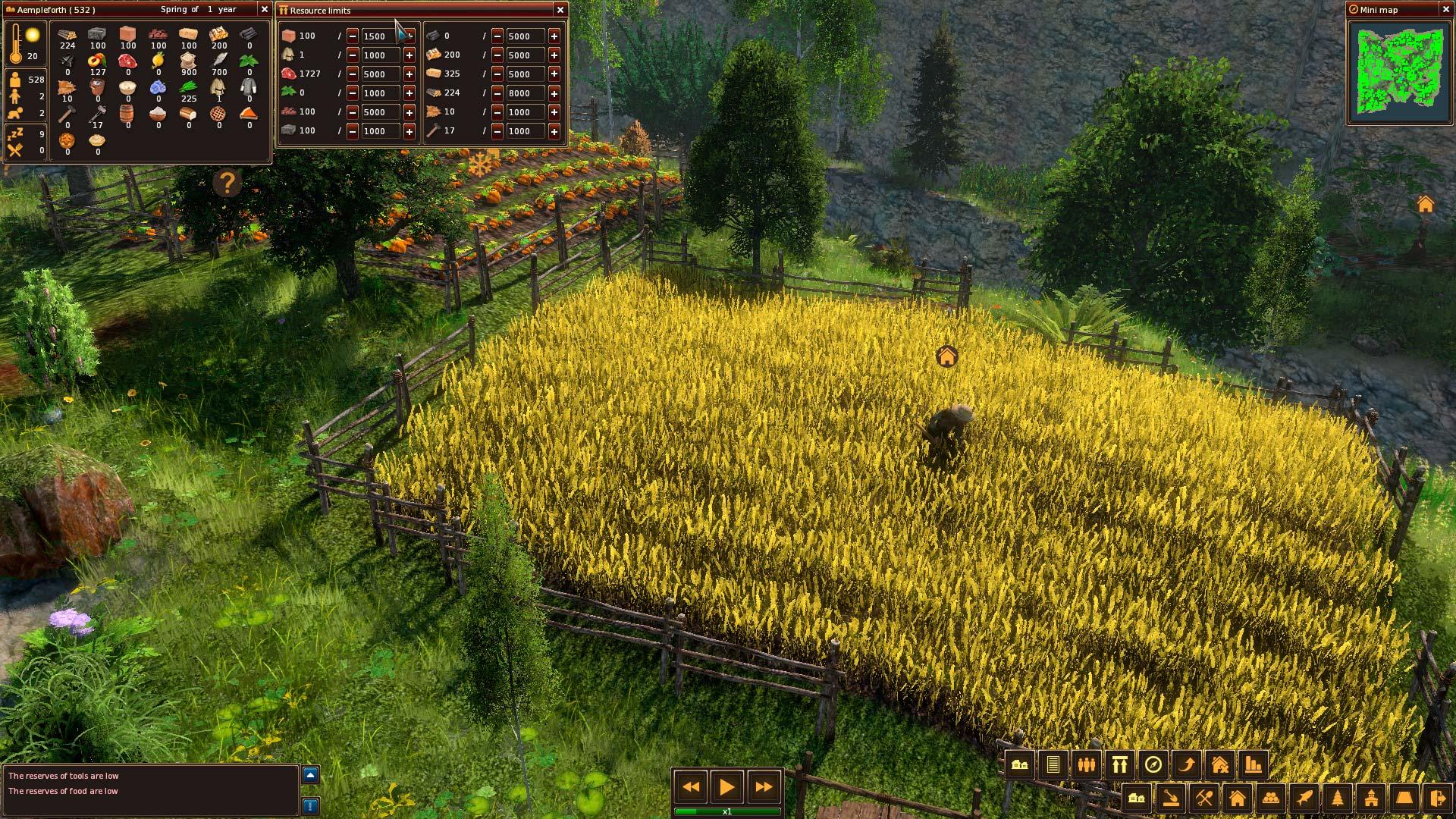 Středověké Life is Feudal: Forest Village opouští předběžný přístup 143908