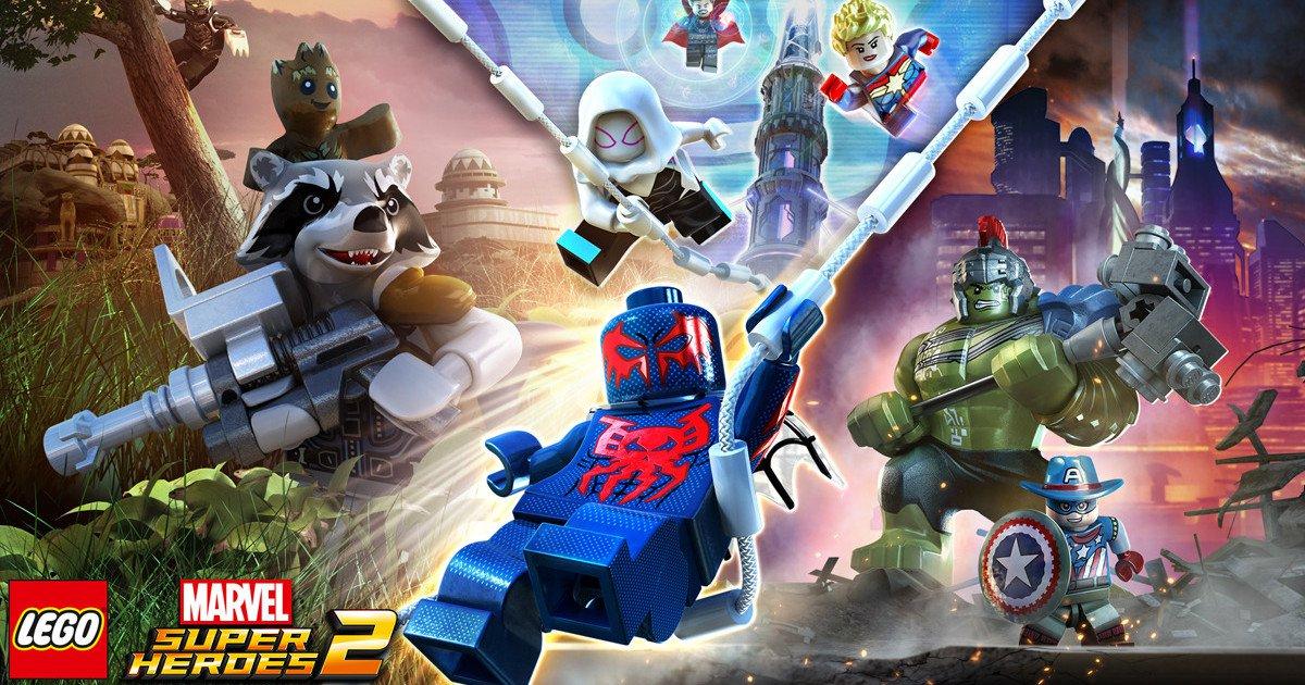 Hrdinové Marvelu se vrací v LEGO Marvel Super Heroes 2 144047