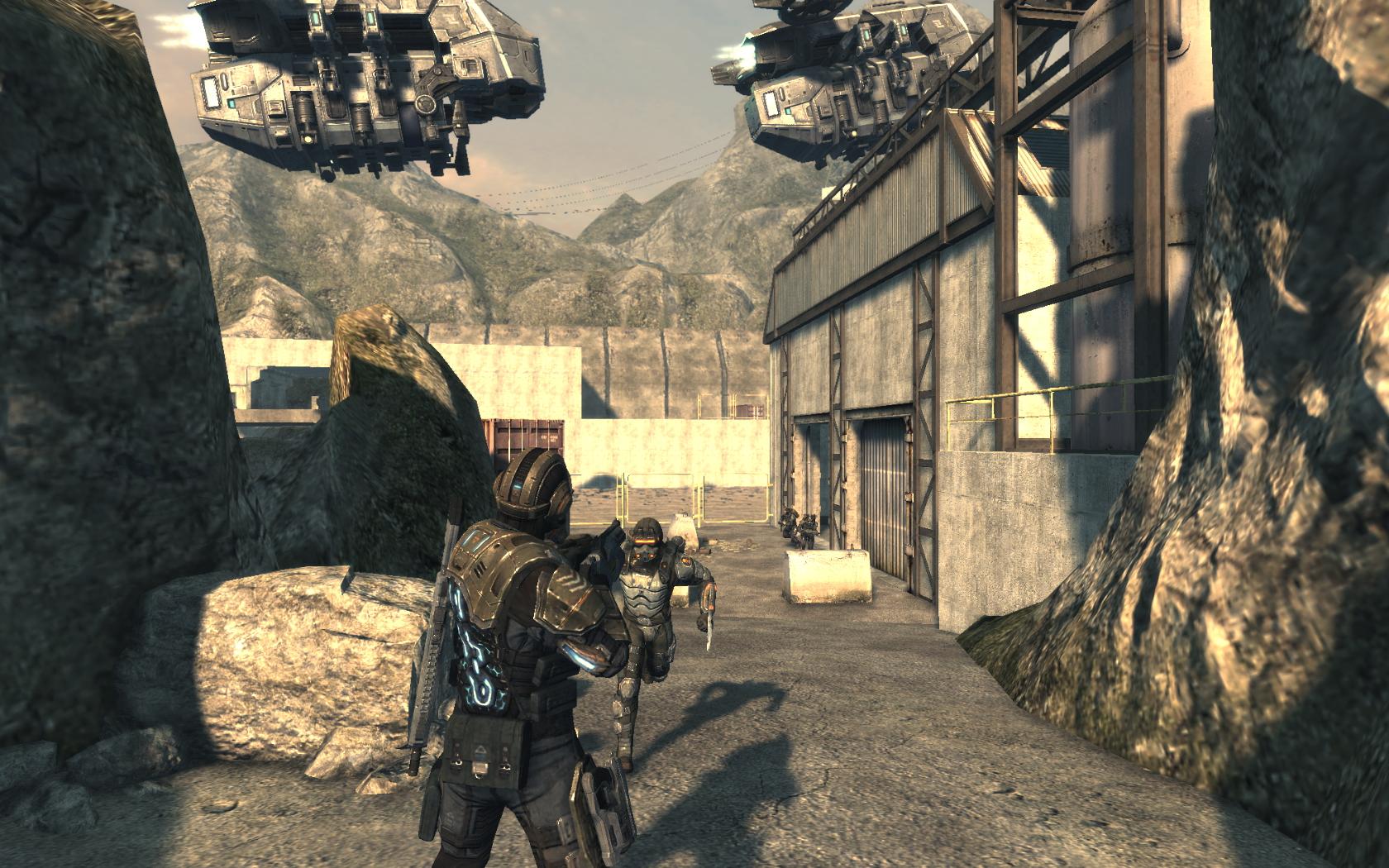 Akce Deep Black inspirovaná u BioShock a Killzone 2 14405