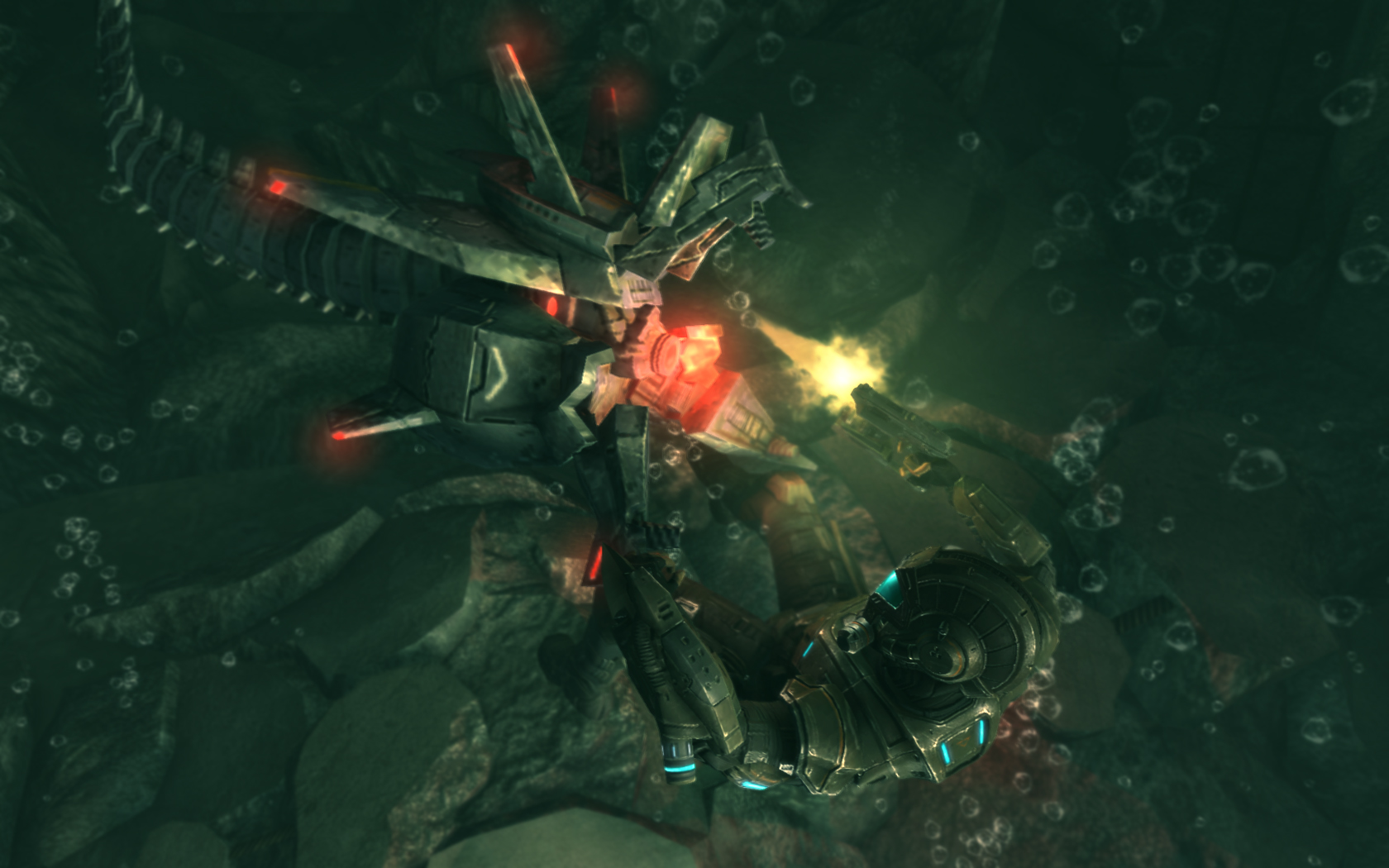 Akce Deep Black inspirovaná u BioShock a Killzone 2 14406