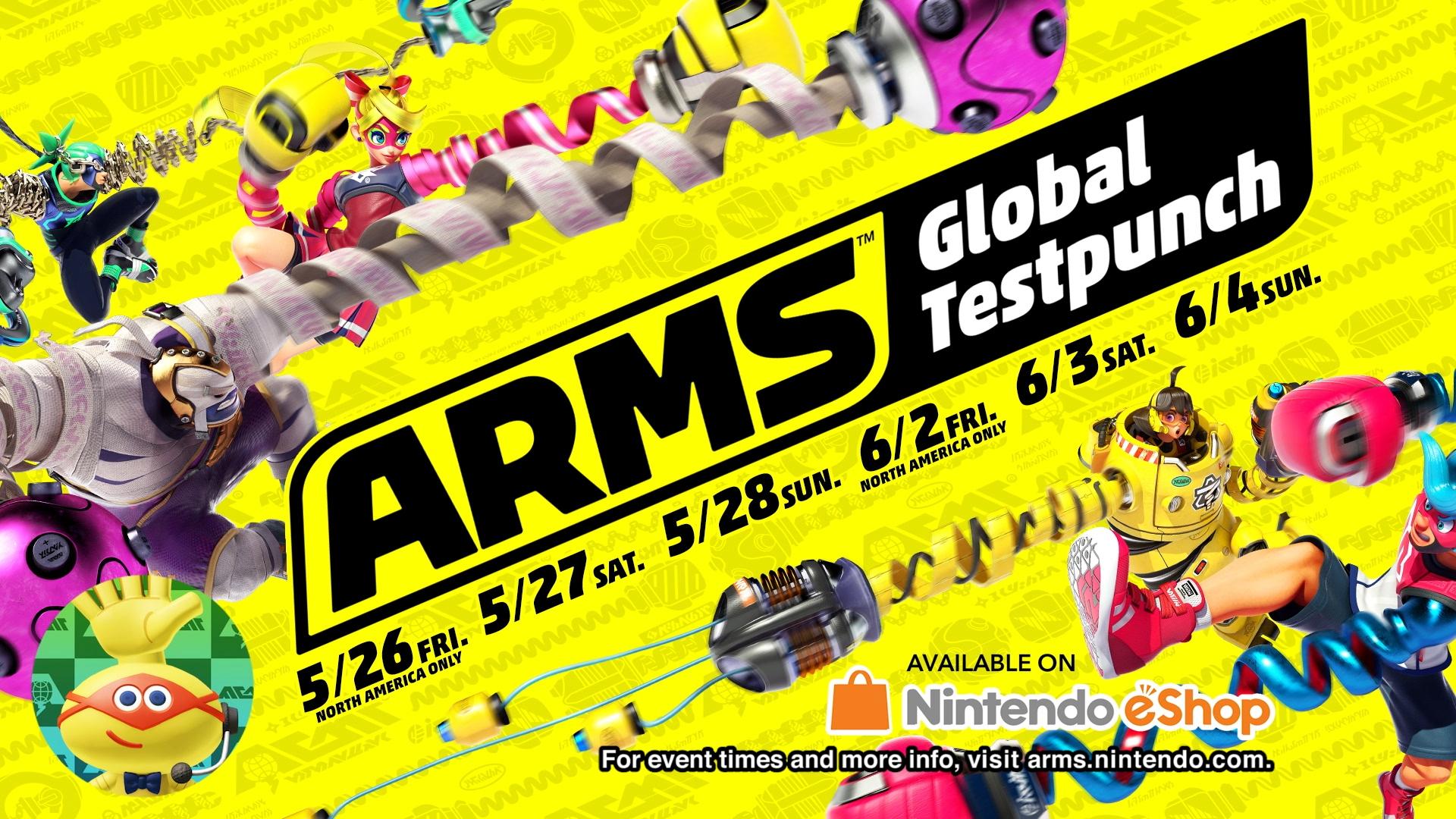 Arms na nás chystá demo Global Testpunch 144306