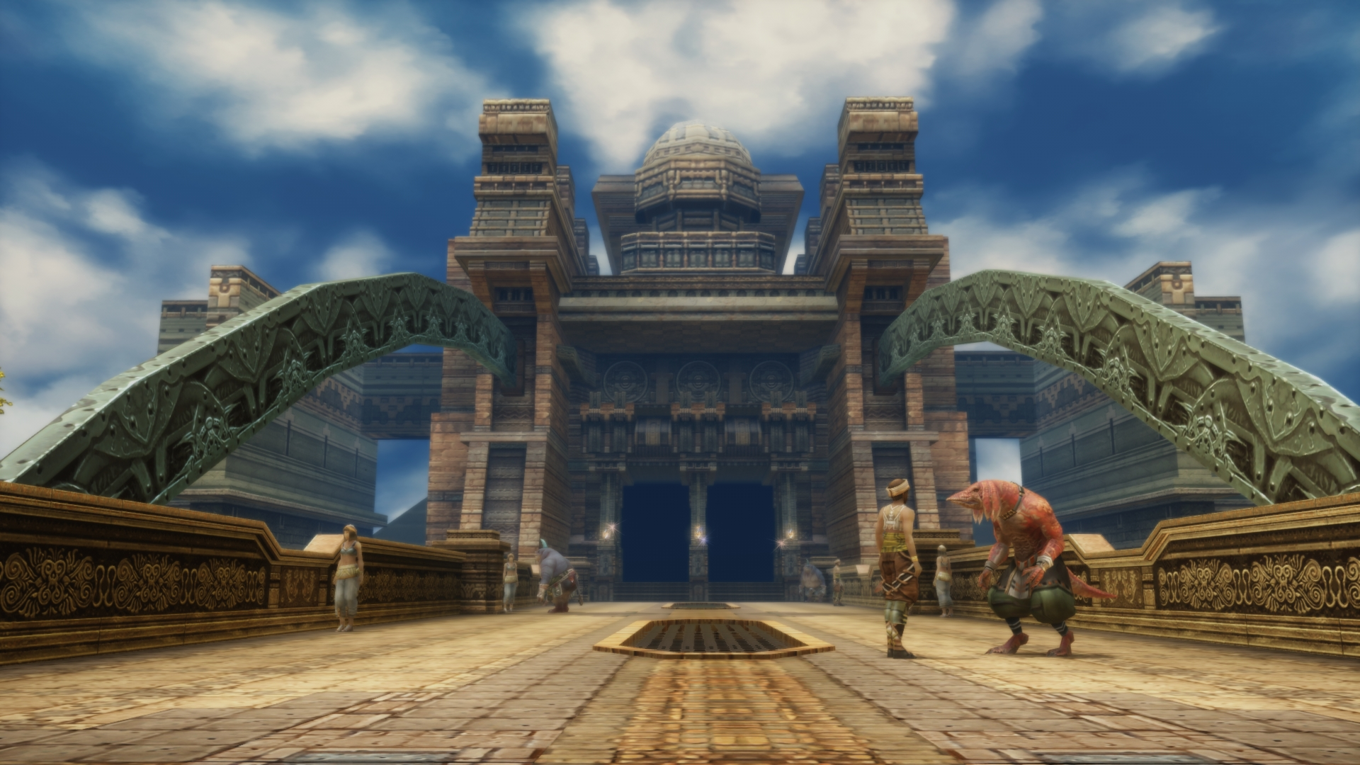 Aktuální vzhled Final Fantasy XII na screenshotech 144679